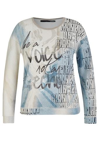 LeComte Shirt mit Front-Print und Schmucksteinen kaufen