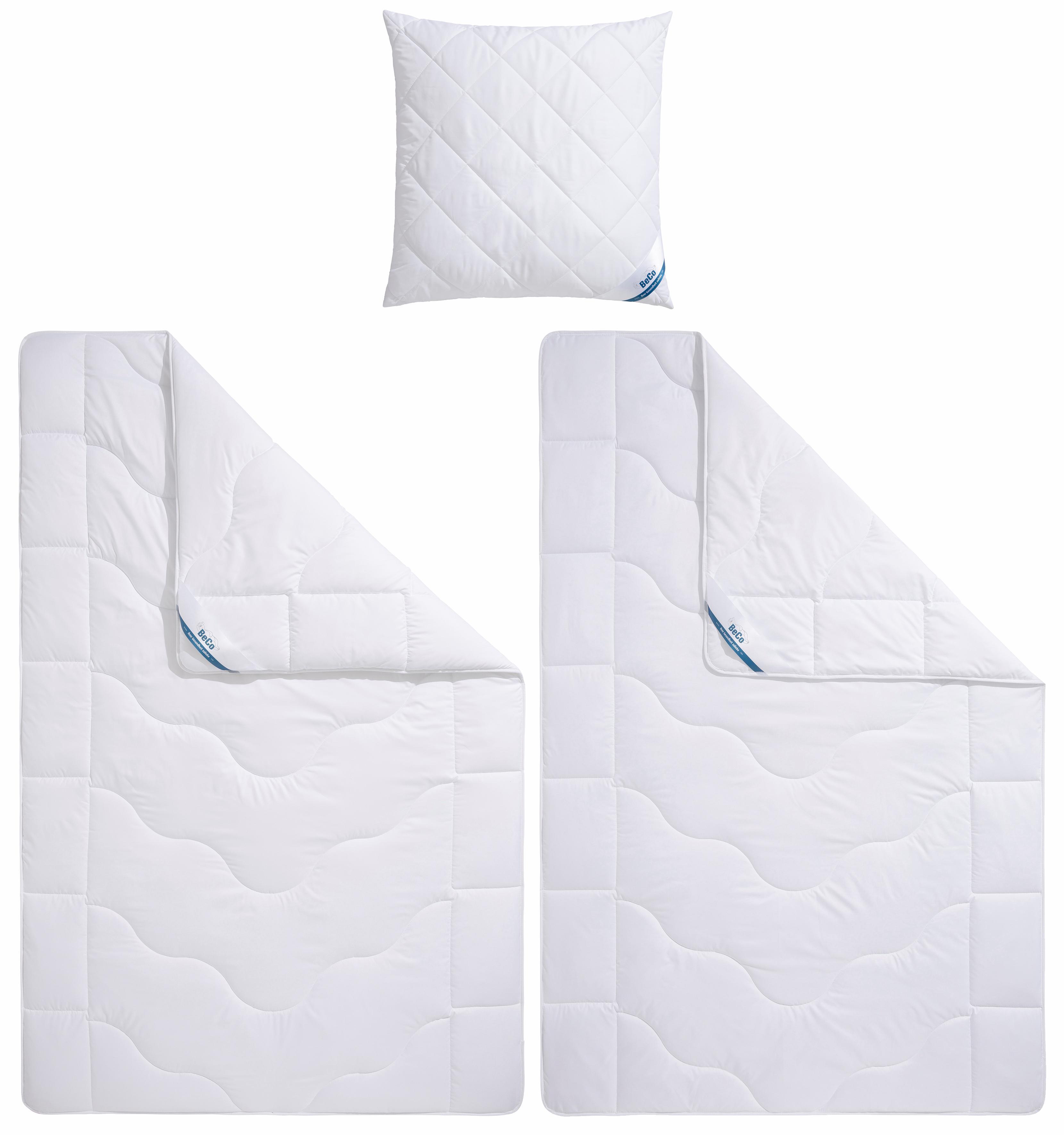 Bettdecken + Kopfkissen Cool & Thermo Beco warm
