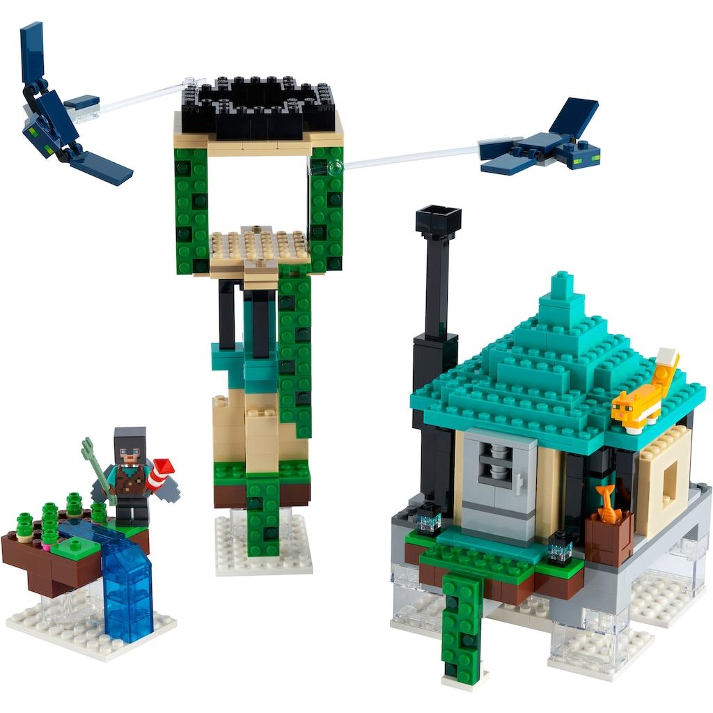 LEGO® Konstruktionsspielsteine »Der Himmelsturm (21173), LEGO® Minecraft™«, (565 St.)