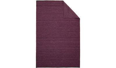morgenland Wollteppich »Kelim Teppich handgewebt lila«, rechteckig, 6 mm Höhe, Kurzflor kaufen