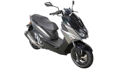 GT UNION Motorroller »Patriot STS Sporttourer«, 200 ccm, 115 km/h, Euro 4, silbergrau kaufen