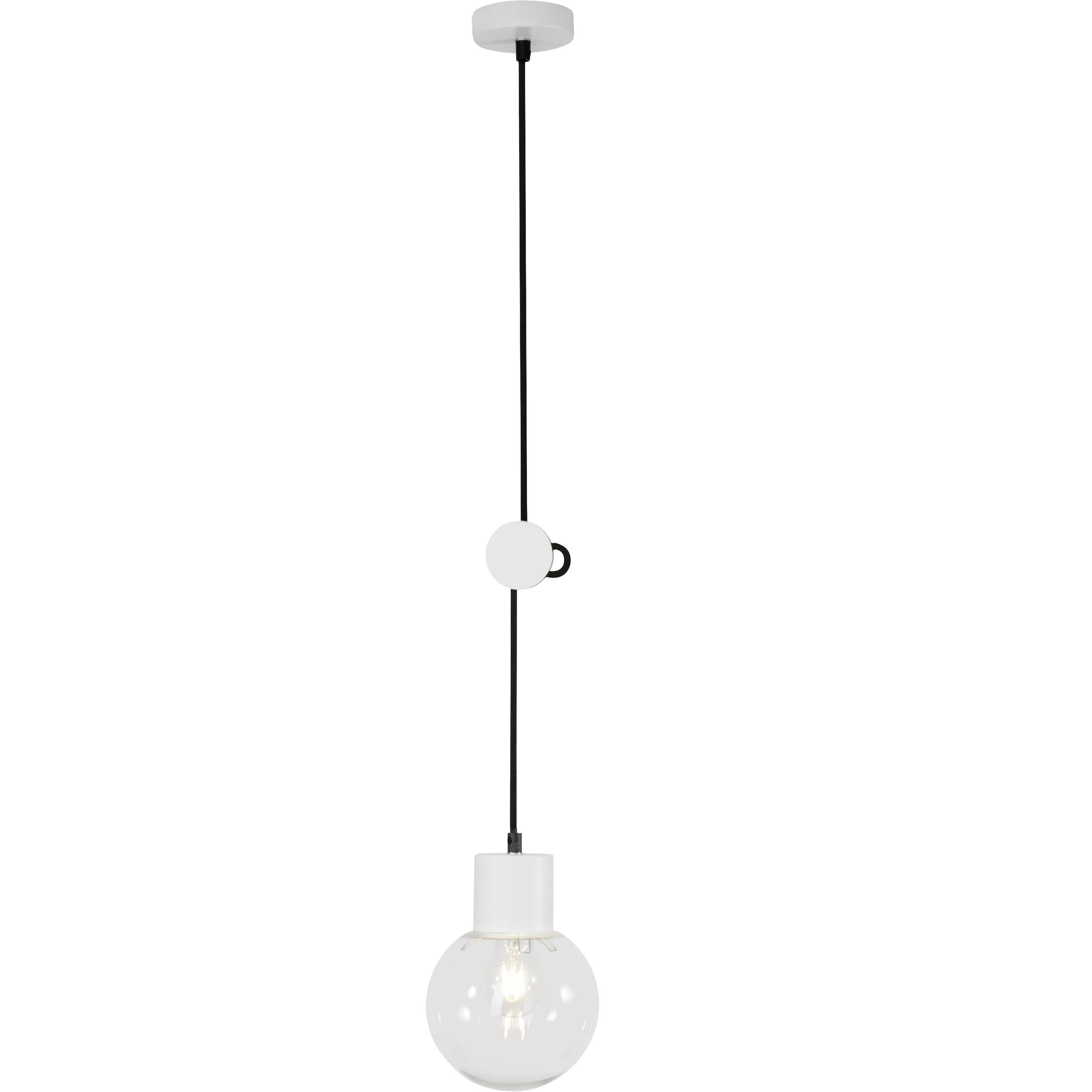 Brilliant Leuchten Dot Pendelleuchte 15cm weiß