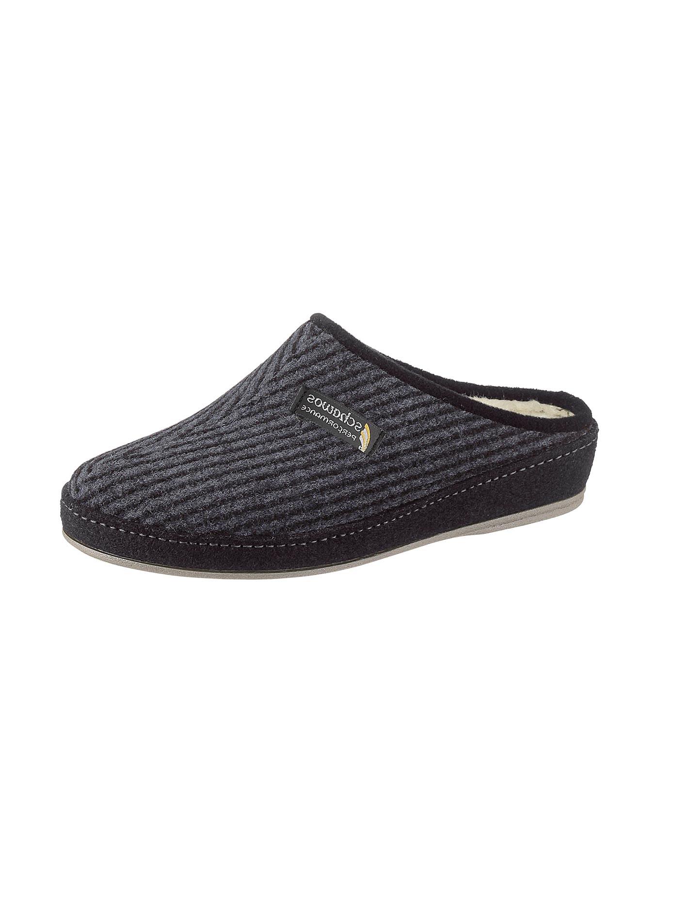 Schawos Pantoffel mit patentierter Filzschalensohle   Schuhe > Hausschuhe > Pantoffeln   Schawos