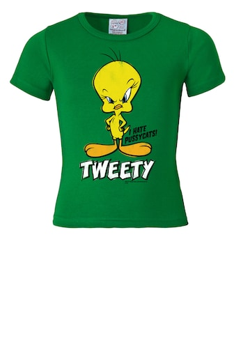 LOGOSHIRT T - Shirt mit Vogel - Print »Tweety  -  I Hate Pussycats« kaufen