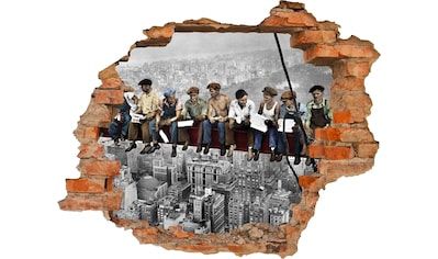 Conni Oberkircher´s Wandsticker »NY Builders«, selbstklebend kaufen