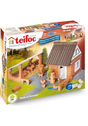 teifoc Steinbaukasten »Bauernhof«, (180 St.), Made in Germany kaufen