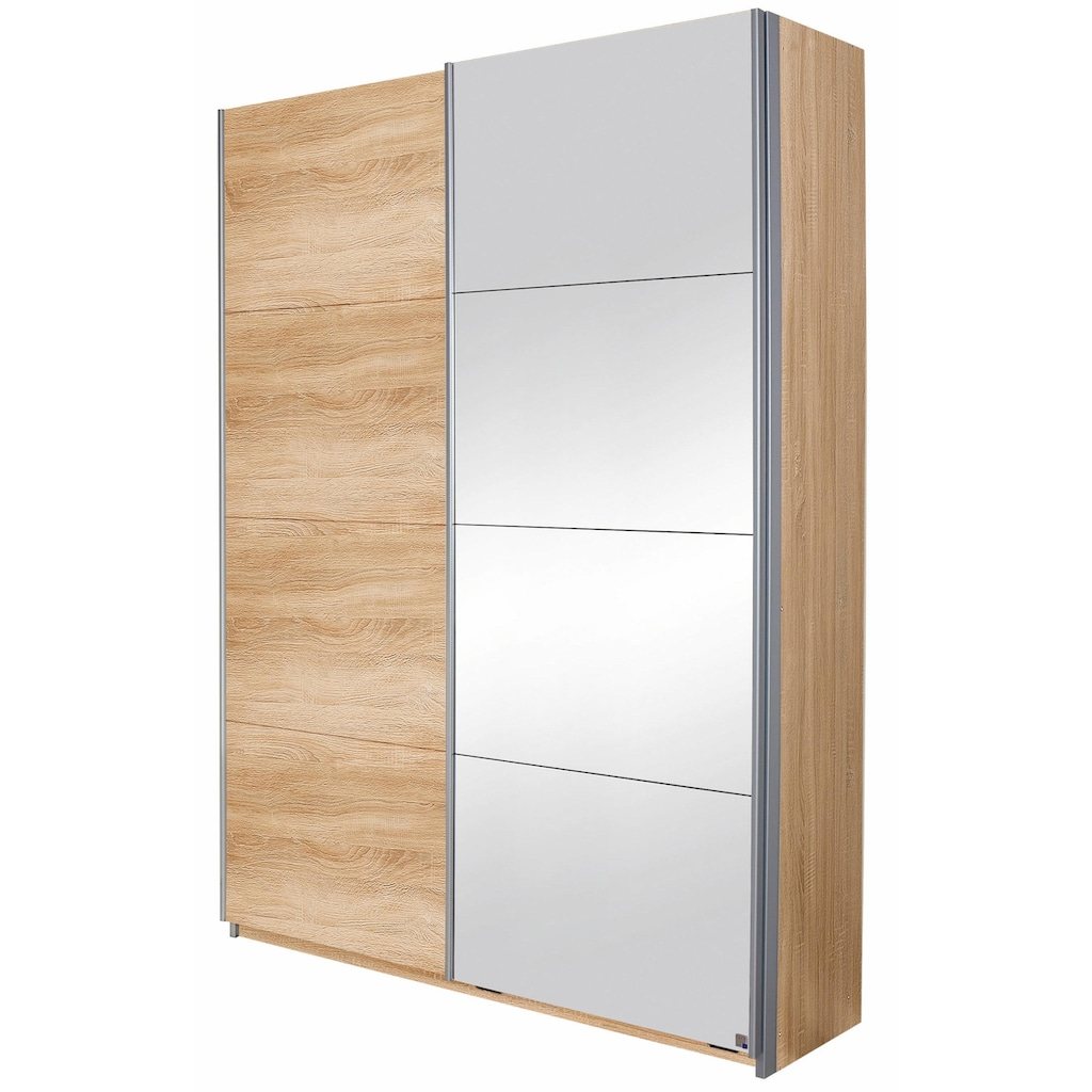 rauch BLUE Garderobenschrank »Minosa«, mit Spiegel, Breite 136 cm