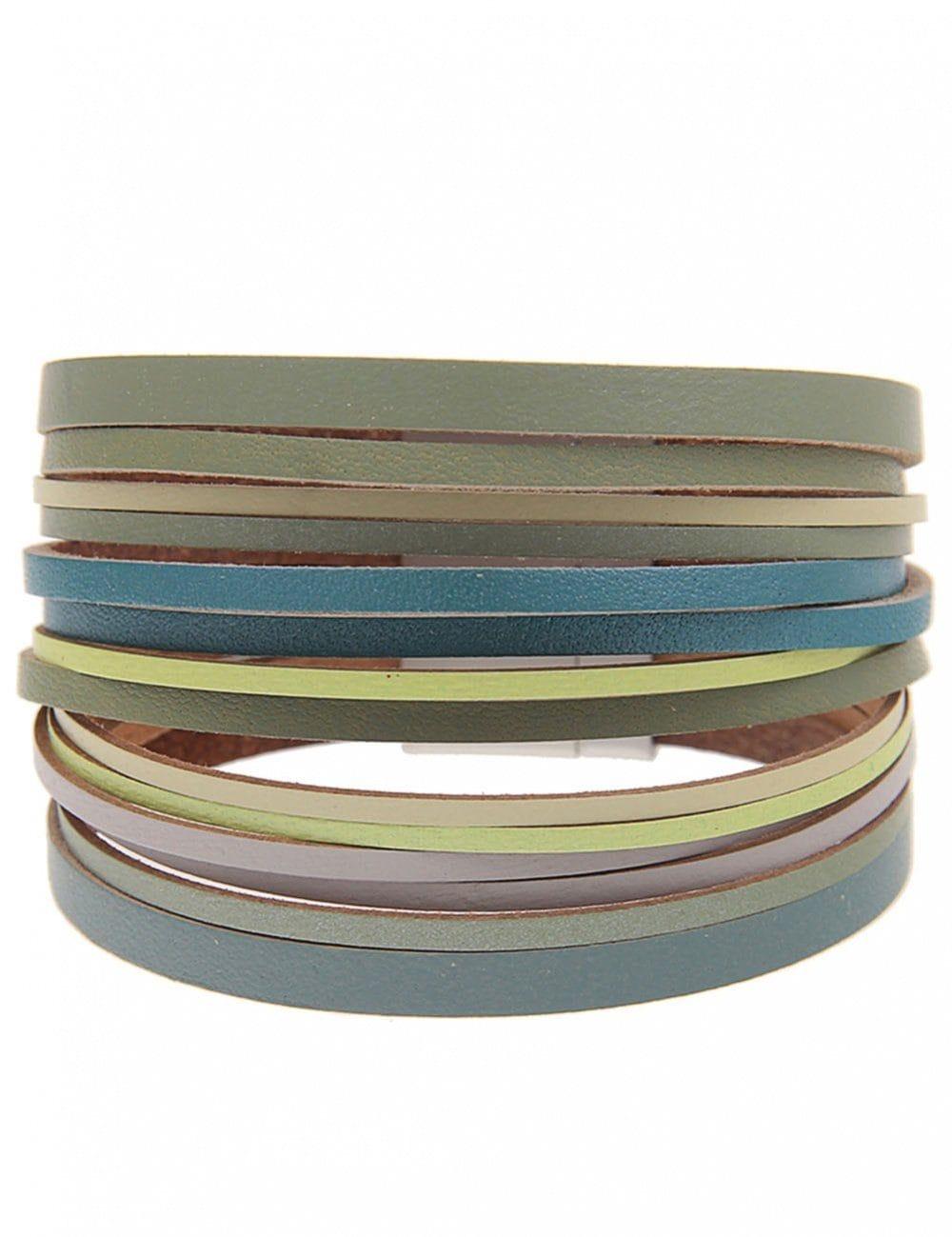 leslii Armband, mit Magnetverschluss grün Damen Armband Armbänder Schmuck 4250980361059