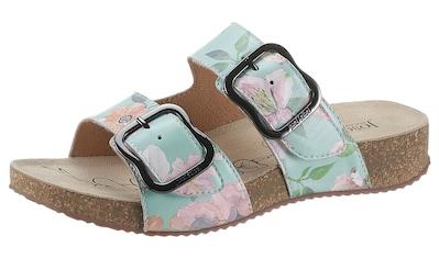 Josef Seibel Pantolette »TONGA 64«, mit schönem Blütenprint kaufen