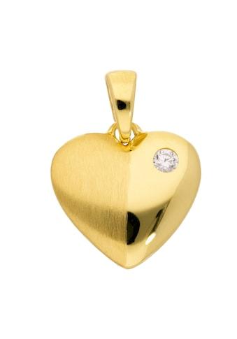 Adelia´s Kettenanhänger »333 Gold Anhänger Herz mit Zirkonia« kaufen