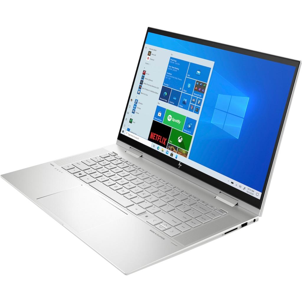 "HP Convertible Notebook »ENVY x360 Convert 15-es0276ng«, (39,6 cm/15,6 "" Intel Core i7 Iris Plus Graphics\r\n 512 GB SSD), Kostenloses Upgrade auf Windows 11, sobald verfügbar"