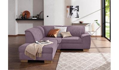 Home affaire Ecksofa »Bianca«, mit Ottomanenabschluß klein kaufen