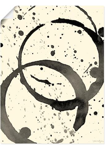 Artland Wandbild »Farbränder III«, Muster, (1 St.), in vielen Größen & Produktarten -... kaufen