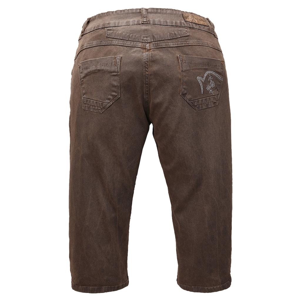 Hangowear Trachtenhose, mit seitlicher Beinschnürung
