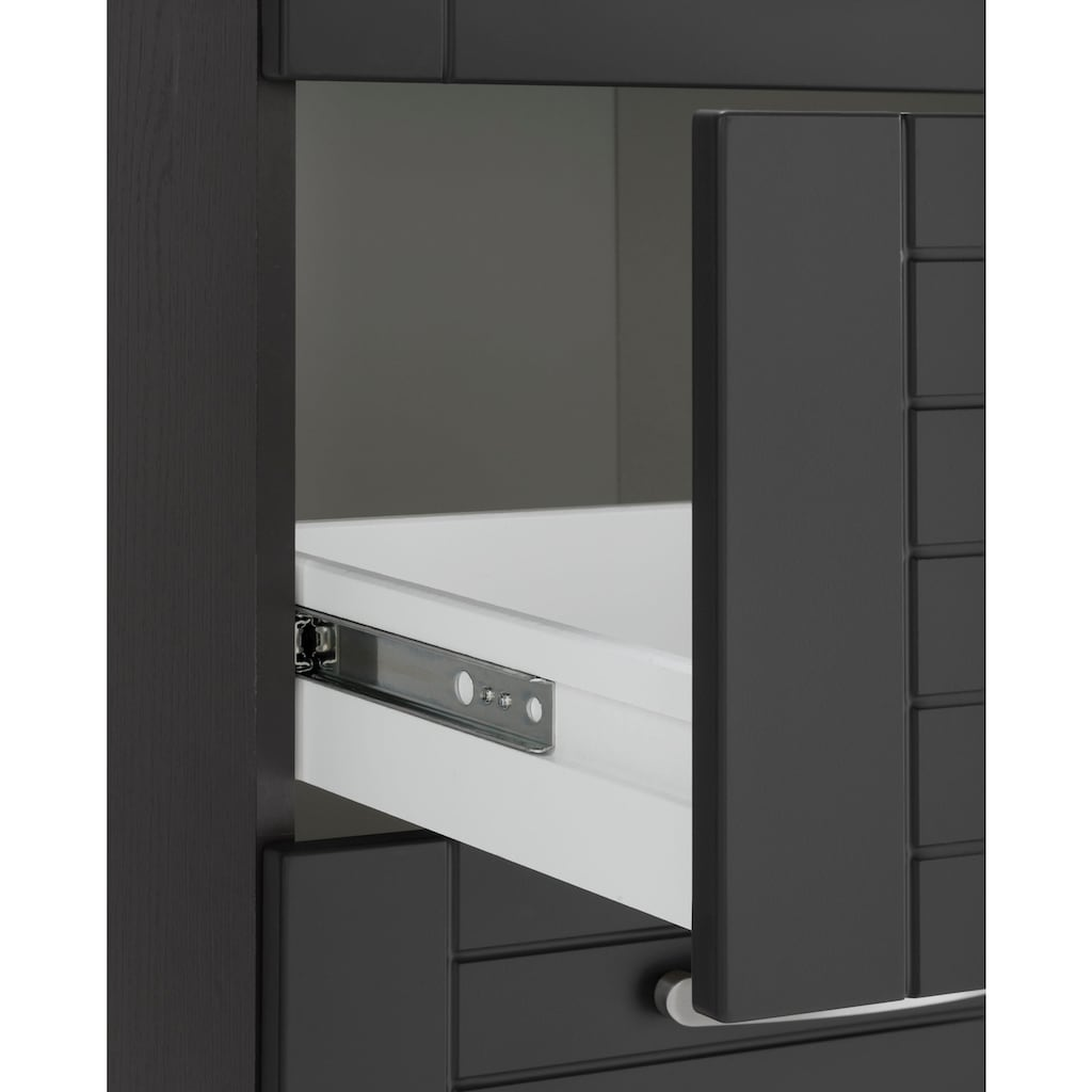 HELD MÖBEL Küchenzeile »Falun«, mit E-Geräten, Breite 270 cm