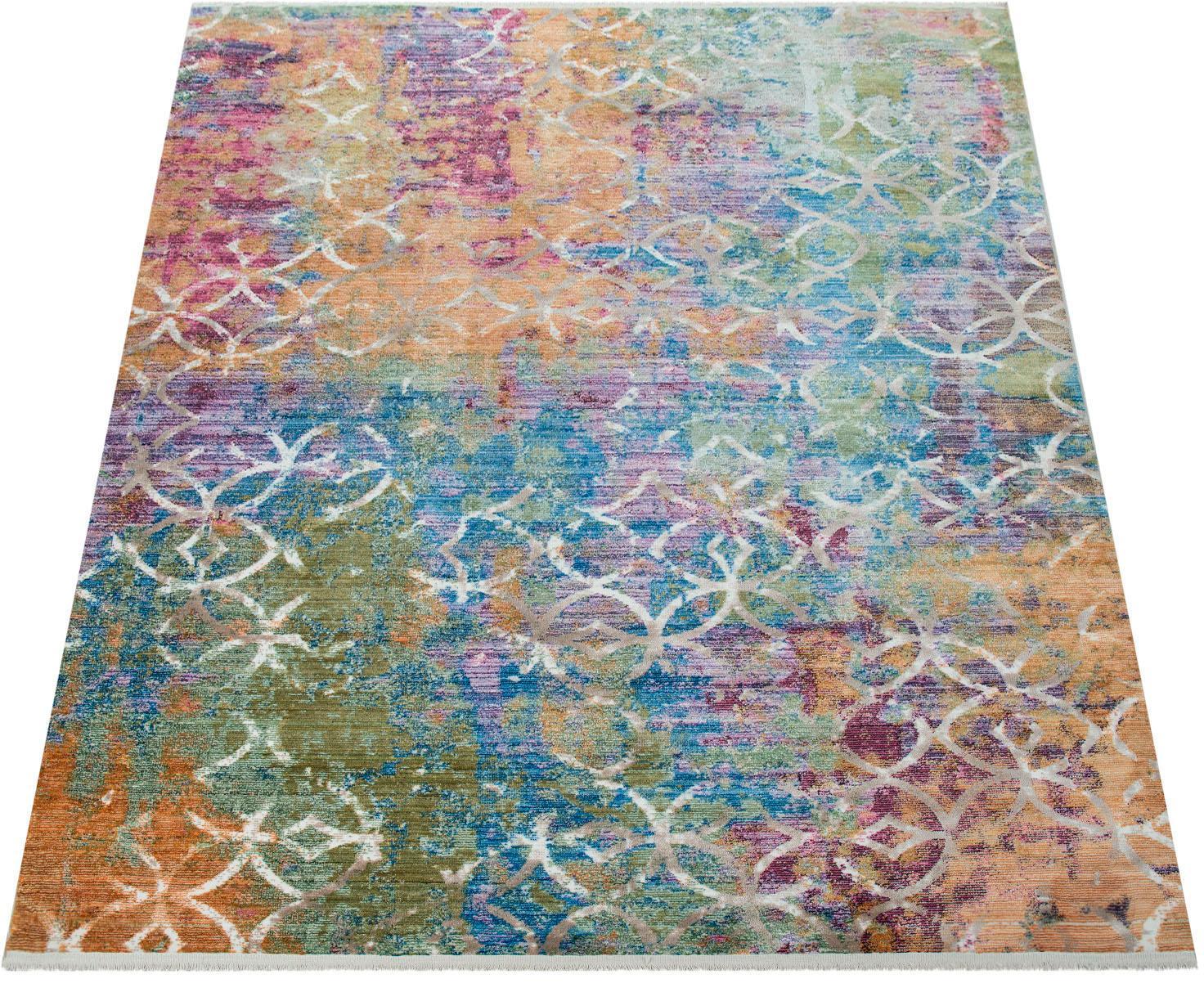 Teppich Picta 113 Paco Home rechteckig Höhe 12 mm maschinell gewebt