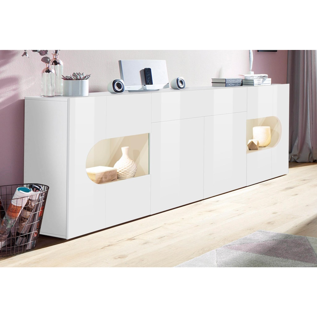 Tecnos Sideboard »Real«, Breite 220 cm