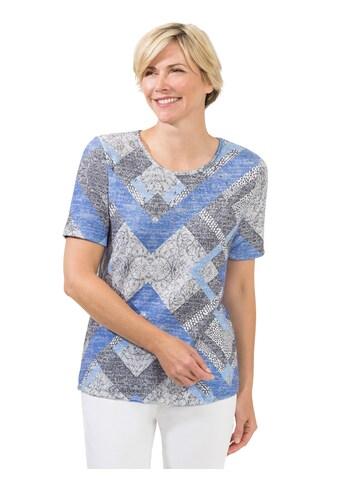 Classic Shirt in bedruckter Feinstrick - Qualität kaufen