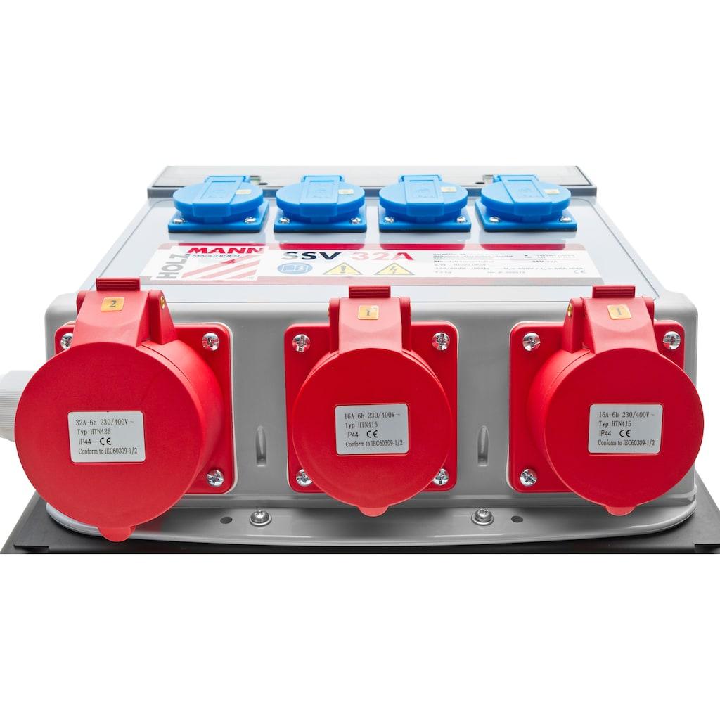 HOLZMANN-MASCHINEN Stromverteiler »SSV32A«, 32A / 400V / 50Hz