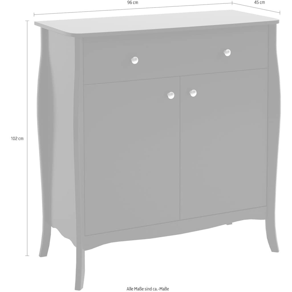 Home affaire Sideboard »Baroque«, Breite 96 cm