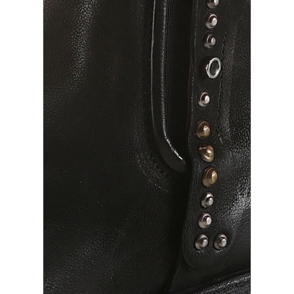 A.S.98 Stiefel »HELL«, mit glänzenden Nieten