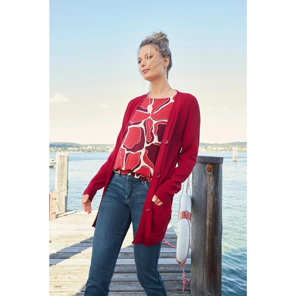 Aniston CASUAL Schlupfbluse, mit graphischem Druck - NEUE KOLLEKTION