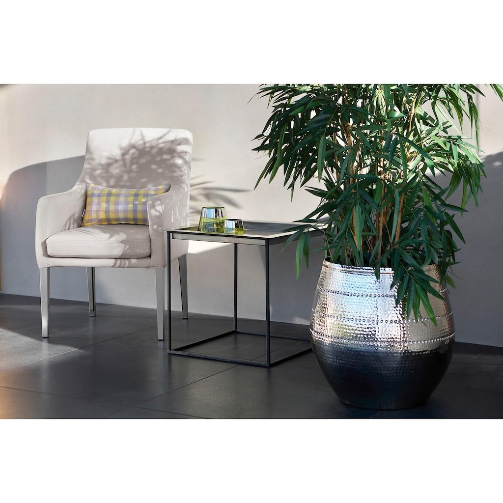Fink Polsterstuhl »VIGO«, für Outdoor geeignet, UV beständig, mit kurzem Bezug