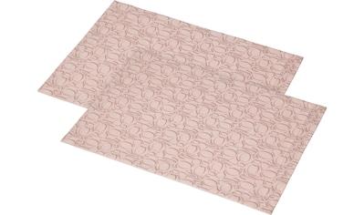 Joop! Platzset »ORNAMENT«, (Set, 2 St.), Aus Jacquard-Gewebe gefertigt mit... kaufen