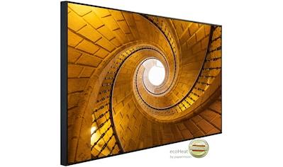 Papermoon Infrarotheizung »Dreifache Wendeltreppe«, sehr angenehme Strahlungswärme kaufen