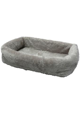 SILVIO DESIGN Hundebett und Katzenbett »de Luxe 90«, B/L/H: 90/65/20 cm, grau kaufen