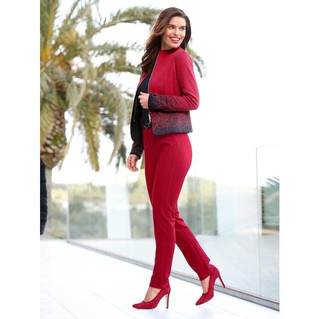 Mona Jerseyblazer in Jacquard-Qualität