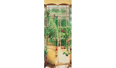 Papermoon Fototapete »Pezenas Door - Türtapete«, matt, Vlies, 2 Bahnen, 90 x 200 cm kaufen