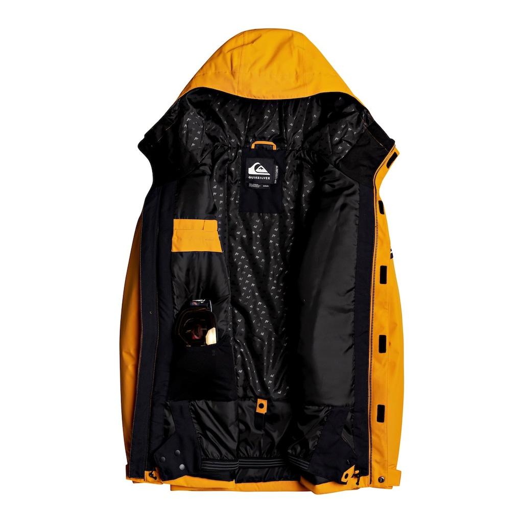 Quiksilver Snowboardjacke »Mission Solid«