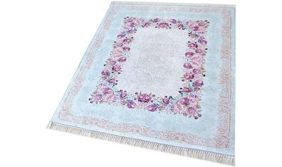 Teppich, »Caimas 2410«, Sehrazat, rechteckig, Höhe 5 mm, gedruckt kaufen