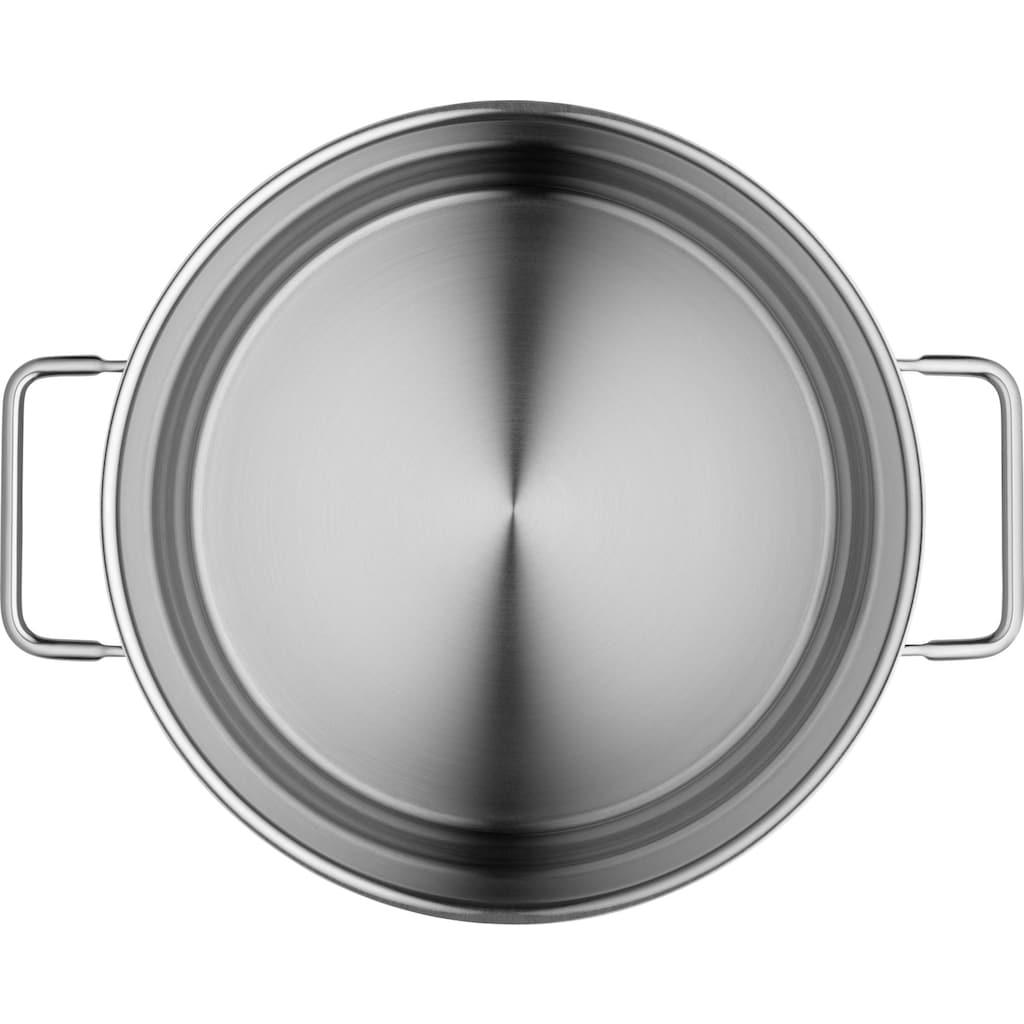 WMF Spaghettitopf, Cromargan® Edelstahl Rostfrei 18/10, (1 tlg.), mit Siebeinsatz, Ø 24 cm, Induktion
