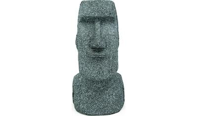 NOOR LIVING Gartenfigur »Osterinsel Skulptur Moai Kopf L«, (1 St.) kaufen