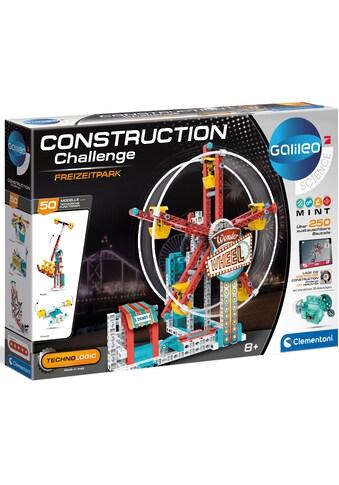 """Clementoni® Modellbausatz """"Galileo  -  Construction Challenge  -  Freizeitpark"""" kaufen"""