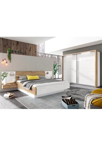 Holzzone Komplett - Schlafzimmer »BARI«, 4 - tlg. kaufen