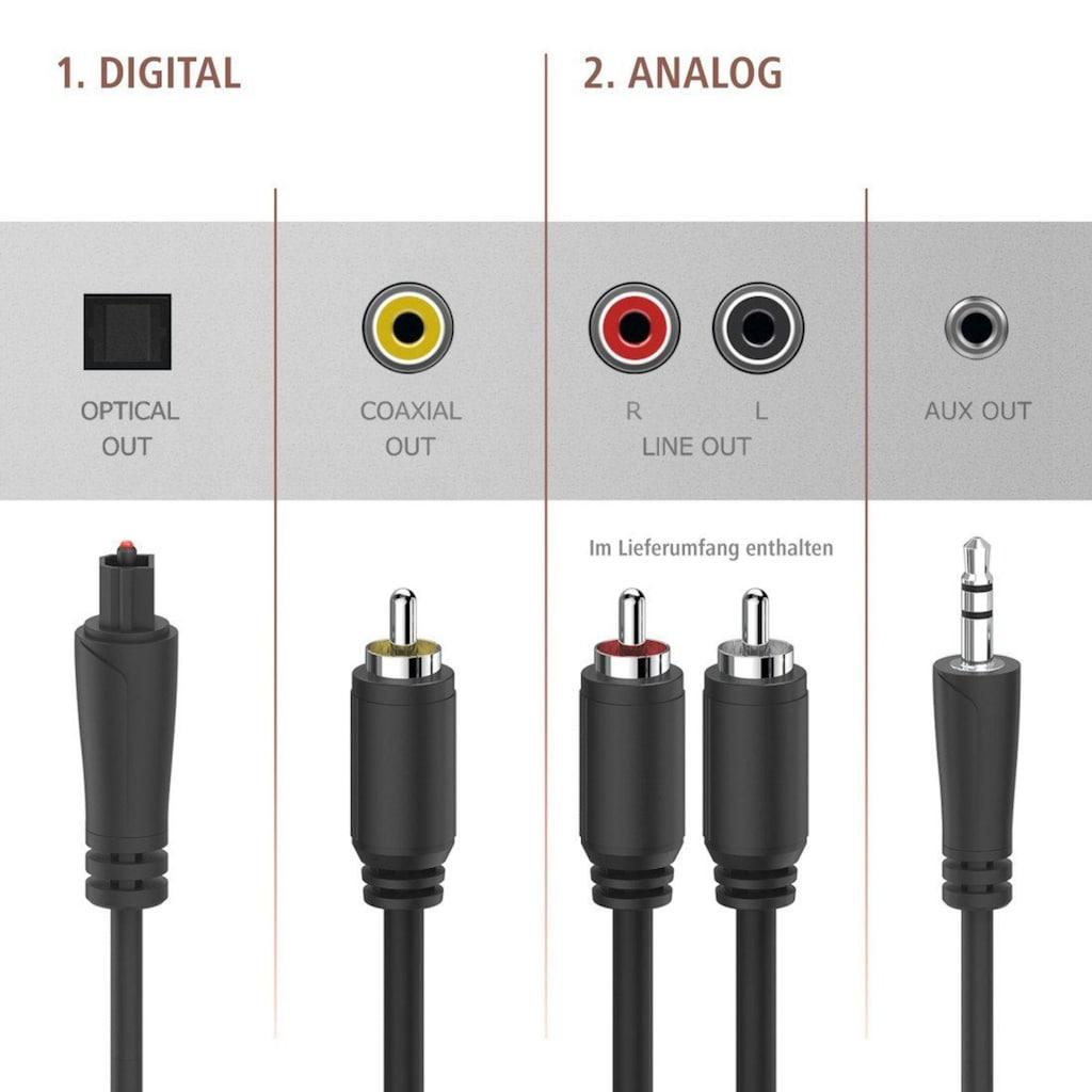 Hama Digitaltuner, DAB+ Digitalradio/Internetradio/Bluetooth/USB