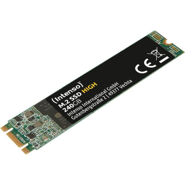 Intenso »M.2 SSD High« SSD-Festplatte