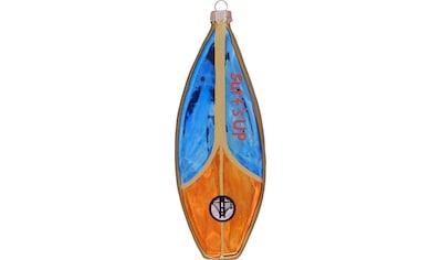 Krebs Glas Lauscha Christbaumschmuck »Surfboard«, (1 tlg.), mundgeblasen kaufen