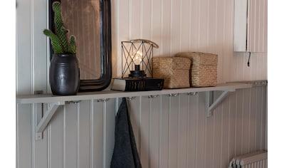 KONSTSMIDE LED Metalllaterne, eckig, Ø 16 cm kaufen