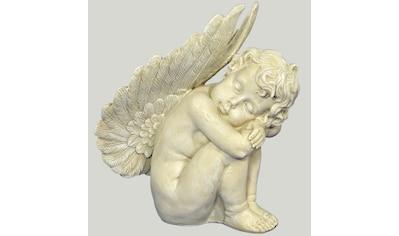 Casa Collection by Jänig Engelfigur »Engelpaar mit Vogeltränke, H 20 cm, B 25 cm« kaufen
