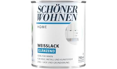 SCHÖNER WOHNEN-Kollektion Weißlack »Home«, glänzend, 750 ml, weiß kaufen