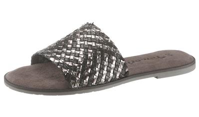 Tamaris Pantolette »Crusy«, mit geflochtener Bandage, schmale Form kaufen
