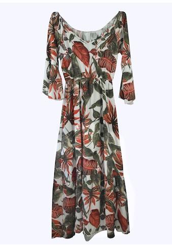 Heimatliebe Carmenkleid im Blumenmuster kaufen