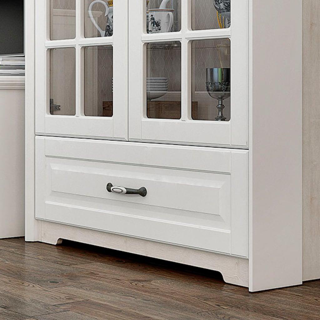 Home affaire Vitrine »Evergreen«, hochwertig UV lackiert, Tür mit Sicherheitsglas und Soft-Close-Funktion