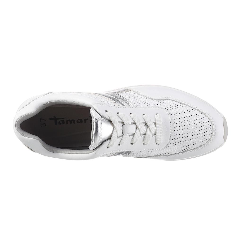 Tamaris Sneaker »LIVA«, mit Perforation