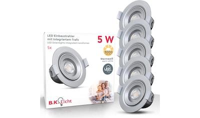 B.K.Licht LED Einbauleuchte »Alcor«, LED-Board, Warmweiß, LED Einbaustrahler LED Spots... kaufen