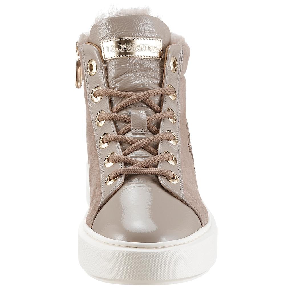 La Martina Sneaker, mit Schmuckelementen